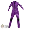 Suit: Play Toy Hit Girl Purple Suit