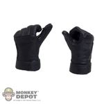 Hands: Play Toy Hit Girl Black Gloves Fist