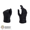 Hands: Play Toy Hit Girl Black Gloved Pistol Grip (Left Hand)