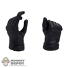 Hands: Play Toy Hit Girl Black Gloved Pistol Grip (Right Hand)