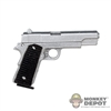 Pistol: Play Toy 1911 Pistol w/Black Grips