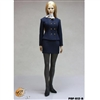 Clothing Set: POP Toys Female Business Suit Blue (POP-1201B)