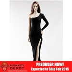 Clothing Set: POP Toys Over The Shoulder Mermaid Gown (POP-F13 Black)