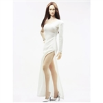 Clothing Set: POP Toys Over The Shoulder Mermaid Gown (POP-F13 White)