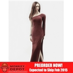 Clothing Set: POP Toys Over The Shoulder Mermaid Gown (POP-F13 Red)