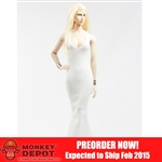 Clothing Set: POP Toys Mermaid Gown (POP-F12 White)
