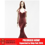 Clothing Set: POP Toys Mermaid Gown (POP-F12 Red)