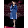 Outfit: POP Toys Women's Single Breasted Blue Raincoat Set (POP-F18C)