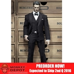 Clothing Set: POP Toys Business Suit w/Bow-tie (POP-X24B)