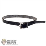Belt: POP Toys Thin Black Leaherlike Belt