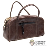 Bag: POP Toys Brown Leatherlike Handbag