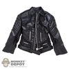 Jacket: POP Toys Black Leatherlike Jacket