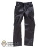 Pants: POP Toys Black Leatherlike Pants
