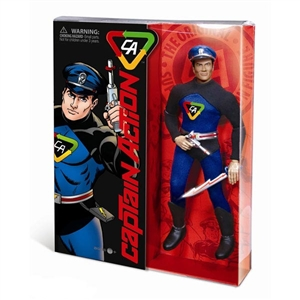 Boxed Figure: Round 2 Corp Captain Action Deluxe (901437)