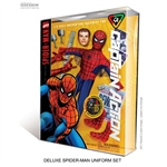 "Boxed Set: Round 2 Corp Captain Action ""Spider-Man"" Deluxe Costume Set (901438)"