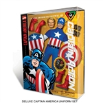 "Boxed Set: Round 2 Corp Captain Action ""Captain America"" Deluxe Costume Set"
