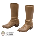 Boots: Redman Molded Cowboy Boots w/Ankle Pegs