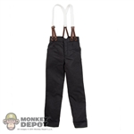 Pants: Redman Black Slacks w/Suspenders