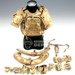 Uniform Set: Barrack Sergeant British Osprey w/Arm + Collar