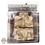 Uniform Set: Barrack Sergeant Desert Tri Color Uniform