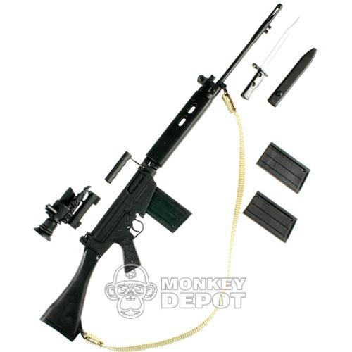 Rifle: Barrack Sergeant British L1A1 (FN FAL)