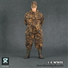 Uniform Set: Soldier Country German WWII SS Camouflage Siamese Suit (SC1004)