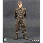 Uniform Set: Soldier Country WWII German SS Peas Camouflage Uniforms Suit (SC1002)