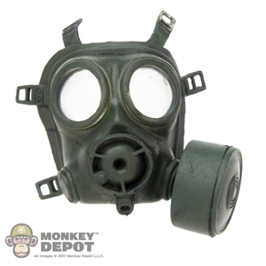 Gas Mask: Soldier Country Green British Gas Mask
