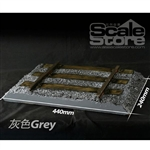 Diorama: Scale Store 1/6 Railroad - Grey (SCS-S0011G)