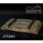 Diorama: Scale Store 1/6 Railroad - Dirt (SCS-S0011D)
