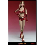 Clothing Set: Super Duck Red Cheerleading Outfit (SUD-C008A)