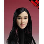 Head: Super Duck Asian Sculpt w/Black Hair (SUD-SDH001A)