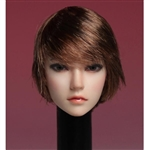 Head: Super Duck Asian Head Ver. 2 w/Short Hair (SUD-SDH002)