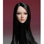 Head: Super Duck Asian Head Ver. 2 w/Black Hair (SUD-SDH002B)