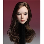 Head: Super Duck Asian Head Ver. 2 w/Brown Hair (SUD-SDH002C)