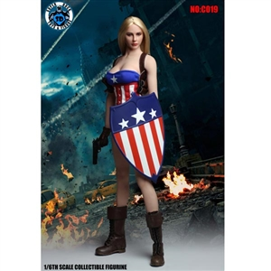 Uniform Set: Super Duck American Female Action Hero Set (SUD-C019)