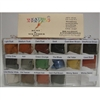 Bragdon 1/2 Oz. Small 16 Color Weathering Set (BRE-16)