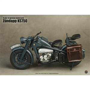 Soldier Story 1/6 WWII German Motorcycle Zundapp KS750 (SS-053)