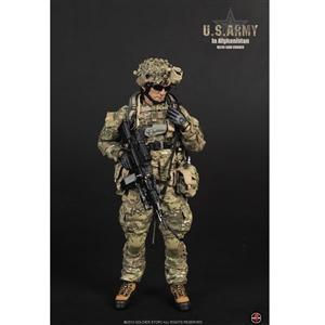 Boxed Figure: Soldier Story US Army in Afghanistan M249 Saw Gunner (SS-068)
