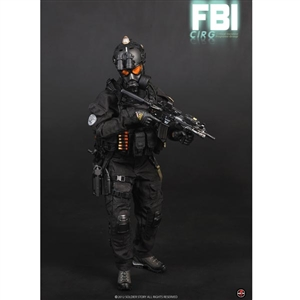 Boxed Figure: Soldier Story FBI CIRG Critical Incident Response Group (SS-062)