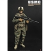 Boxed Figure: Soldier Story USMC 2nd Marine Expeditionary Battalion in Afghanistan's Hemland Province (SS-068)