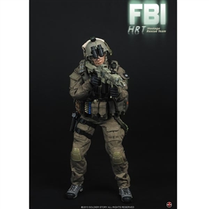 Boxed Figure: Soldier Story FBI HRT (Hostage Rescue Team) (SS-067)