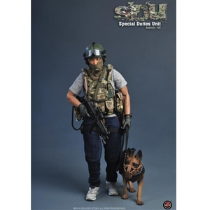 Boxed Figure: Soldier Story Special Duties Unit (Assaulter-K9) (SS-097)