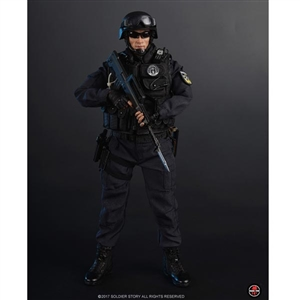 Boxed Figure: Soldier Story Blue Steel Commandos (SS-099)