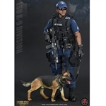 "Boxed Figure: Soldier Story NYPD ESU ""K-9 Division"" (SS-101)"