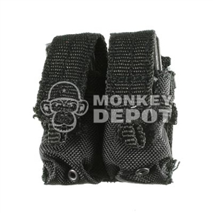 Pouch Soldier Story M4 Mag Double Flap Type Black MOLLE