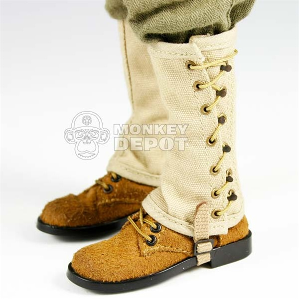 boots  soldier story us wwii boondockers w  leggings