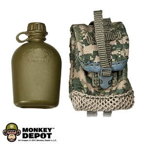 Pouch: Soldier Story Canteen/General Purpose w/Canteen ACU MOLLE