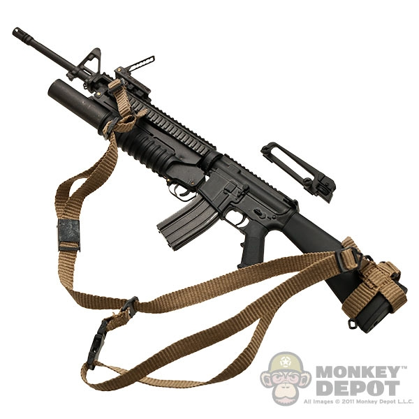Monkey Depot Rifle Soldier Story M16a4 W M203 Grenade