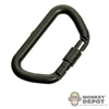 Tool: Soldier Story Carabiner Locking Black